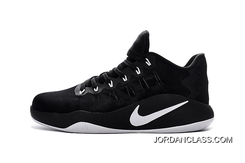 12a489aaaed Nike Hyperdunk 2016 Low Black-White-Black Men s Basketball Shoes Best