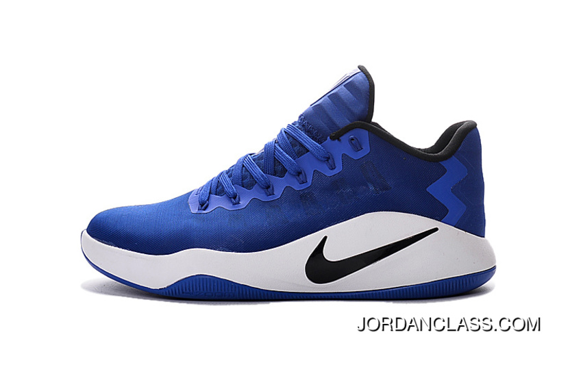 more photos 60378 763d6 Nike Hyperdunk 2016 Low Game Royal -Black White Men s Basketball Shoes New  Style