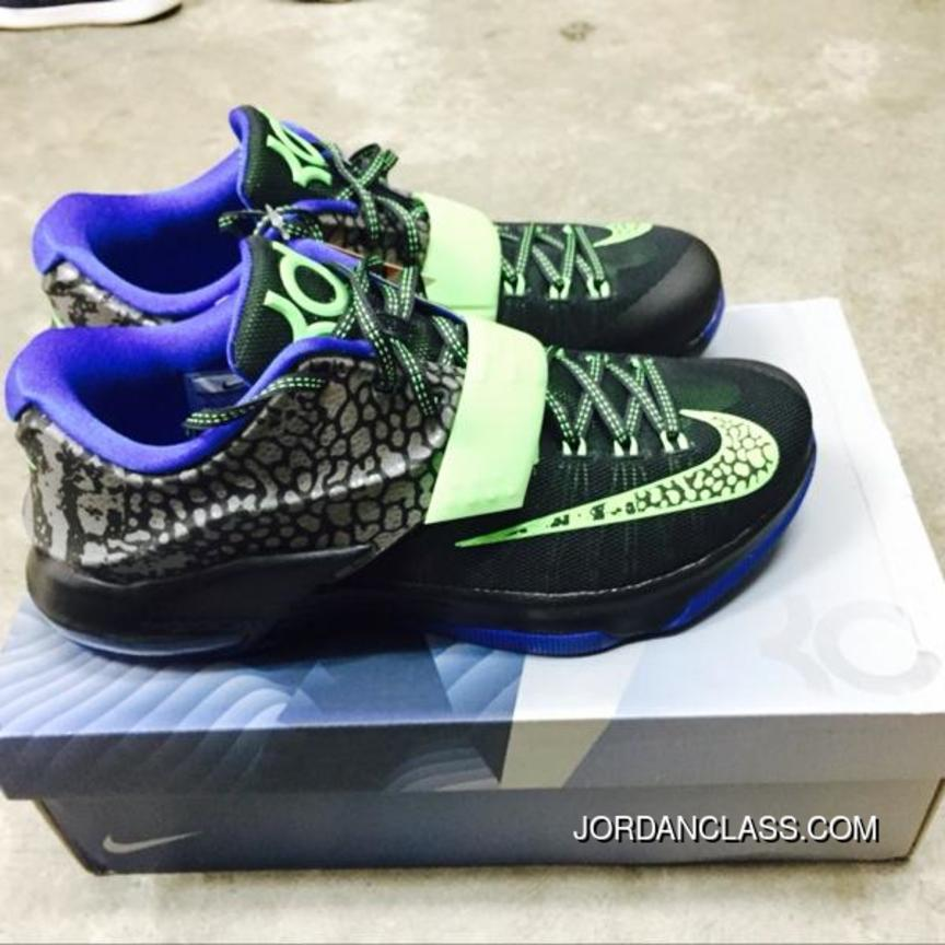 a4937bbc3416 Nike KD 7  Electric Eel  Metallic Pewter Anthracite Lyon Blue Flash ...