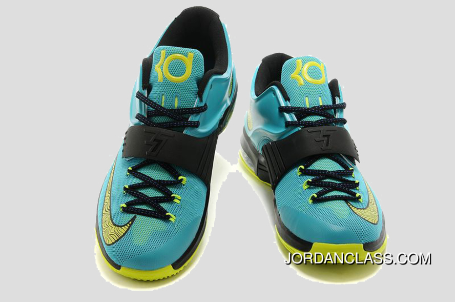 """Uprising"" Nike KD 7 Hyper Jade Black-Photo Blue-Volt Lastest eeff2cce17"