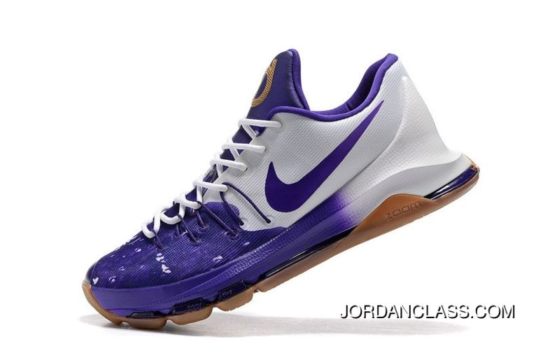 "wholesale dealer c25eb 484a8 Nike KD 8 ""Peanut Butter & Jelly"" Men's Basketball Shoes Authentic ..."