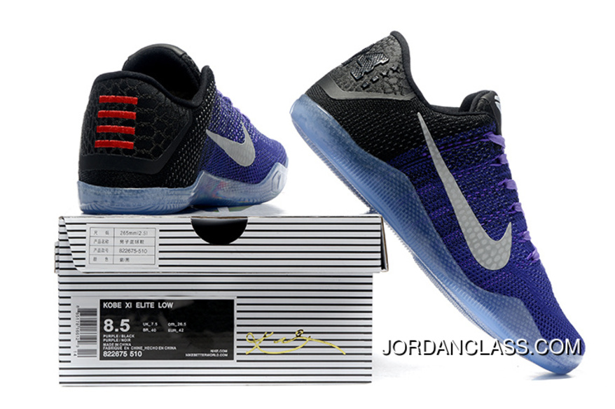 sale retailer de394 2f981 2016 'Eulogy' Nike Kobe 11 Hyper Grape/White-Black-University Gold ...