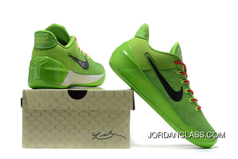 check out c0412 33f65 ... uk grinch nike kobe a.d. green black mens basketball shoe top deals  f0477 bbe5a