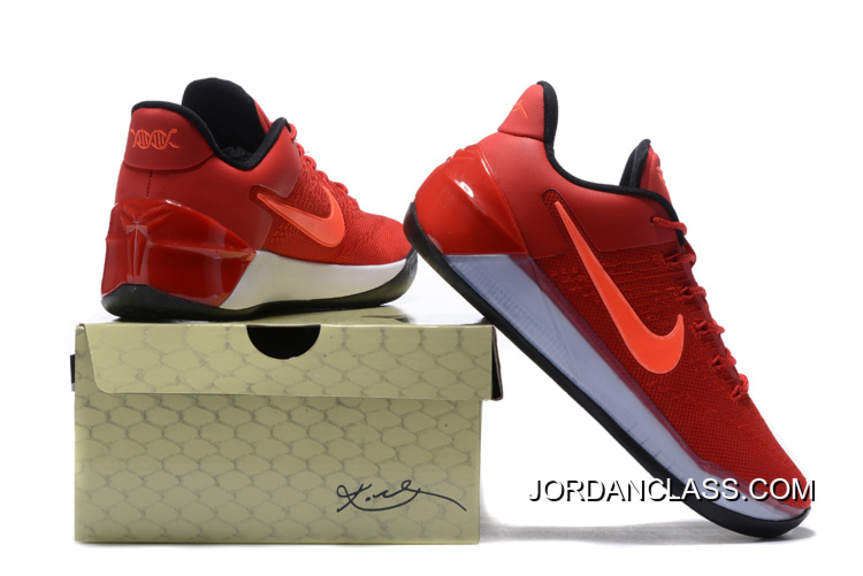 d9177255395f Nike Kobe 12 AD University Red Black-Total Crimson Copuon Code ...