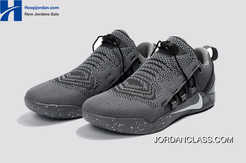 the latest 364cb 50bf1 Nike Kobe A.D. NXT Dark Grey White Men s Basketball Shoes Cheap To Buy