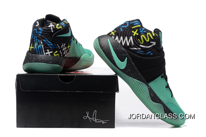 best service 3a407 95fb9 Nike Kyrie 2 Mint Green Black Men s Basketball Shoes Copuon Code