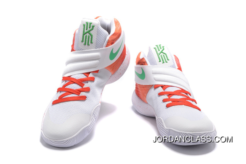buy online 9efbf b4b10 ... canada nike kyrie 2 white orange green mens basketball shoes online  11e0a 304cb