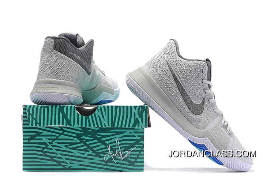 1fb502a155b Nike Kyrie 3 Wolf Grey Volt – White PE Men s Basketball Shoes Online ...