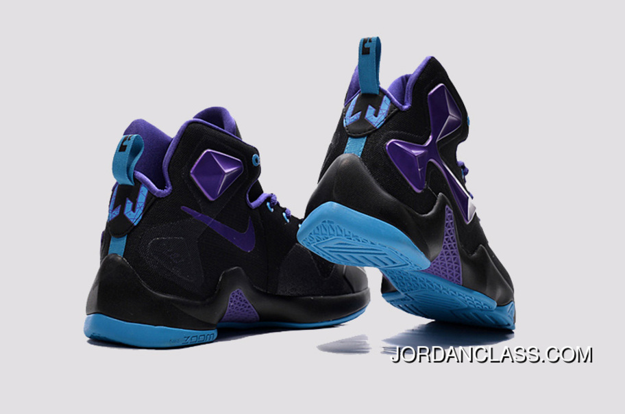 sports shoes a788d 8e7be 2015  Summit Lake Hornets  Nike LeBron 13 Purple Black Vivid Blue New  Release