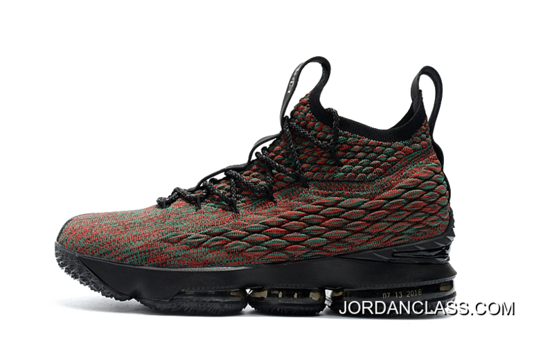 "03350028ab5a9 Nike LeBron 15 ""BHM"" Black Multi-Color New Year Deals"