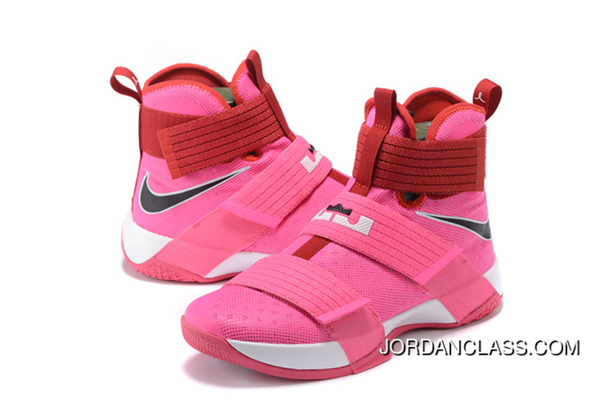 2042beaadae 2016 Nike LeBron Soldier 10  Think Pink  New Style