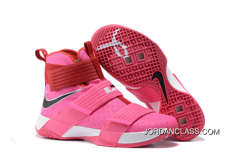 2016 Nike LeBron Soldier 10  Think Pink  New Style 748537cc33