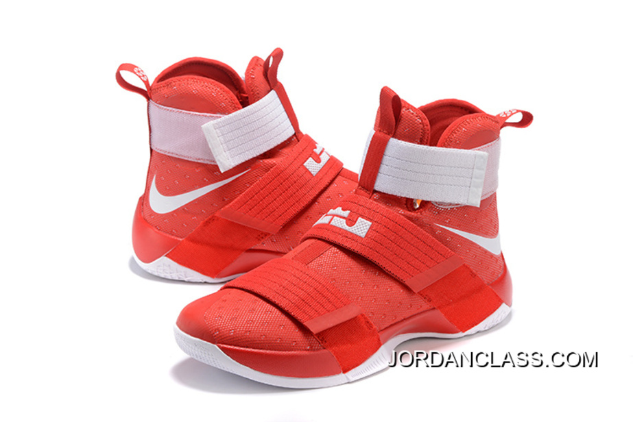 finest selection f9b0f f65c0 Nike LeBron Soldier 10 Ohio State Online