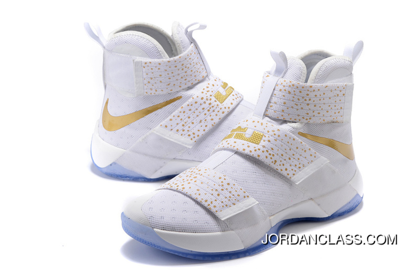 brand new 06348 aaf52 Nike Zoom LeBron Soldier 10 Gold Medal 2016 Release Lastest