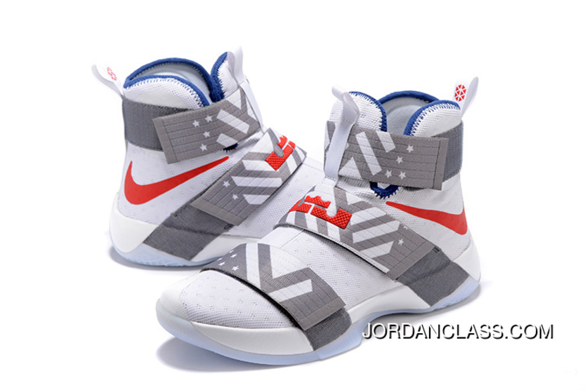 f76c1b5914a Nike Zoom LeBron Soldier 10 USA Dream Team 12 Discount