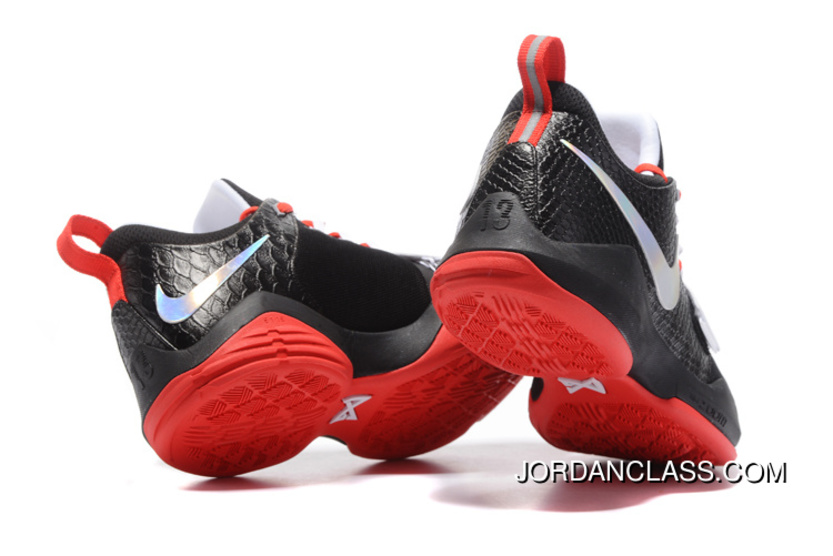 timeless design ff76e 08ba1 ... germany nike pg 1 black white red mens basketball shoes best cded7 719af