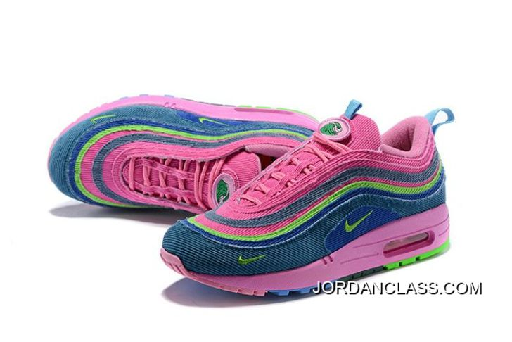wholesale dealer fc43e fe571 Authentic Women Sean Wotherspoon Nike Air Max 97 Hybrid SKU107422-272